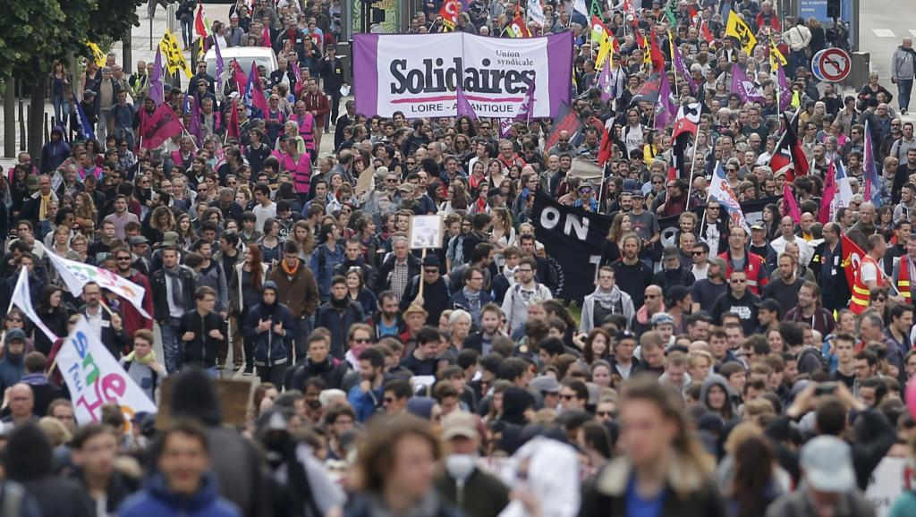 Протесты и забастовки против трудовой реформы во франции  в 2016 году.