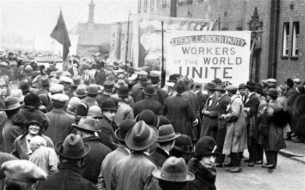 Всеобщая забастовка 1926г. Великобритания
